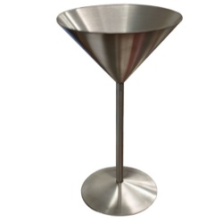 Chef-Hub Stainless Steel Martini Glass